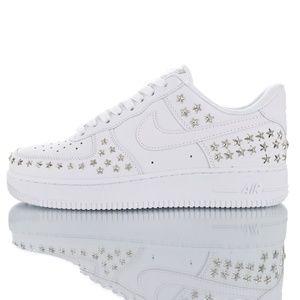 "Nike Air Force 1 '07 XX ""STARS PACK' White AR0639-"